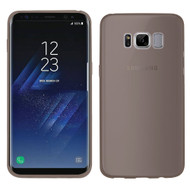 Rubberized Crystal Case for Samsung Galaxy S8 Plus - Smoke
