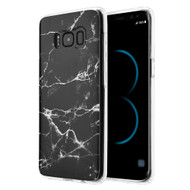 *Sale* Marble TPU Case for Samsung Galaxy S8 Plus - Black