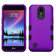 *SALE* Military Grade Certified TUFF Hybrid Armor Case for LG K20 Plus / K20 V / K10 (2017) / Harmony - Purple