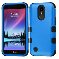 *SALE* Military Grade Certified TUFF Hybrid Armor Case for LG K20 Plus / K20 V / K10 (2017) / Harmony - Blue