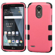 Military Grade Certified TUFF Hybrid Armor Case for LG Stylo 3 / Stylo 3 Plus - Pink