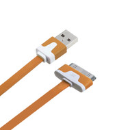 *SALE* Mybat 30-Pin to USB Sync and Charging Flat Cable - Beige