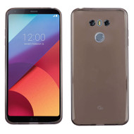 Rubberized Crystal Case for LG G6 - Smoke