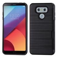 Card To Go Hybrid Case for LG G6 - Black