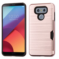 Card To Go Hybrid Case for LG G6 - Rose Gold