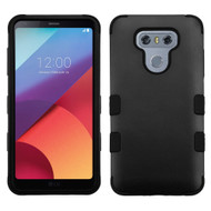 Military Grade Certified TUFF Hybrid Armor Case for LG G6 - Black