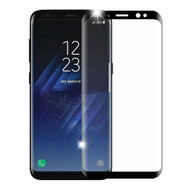 *SALE* 3D Curved Full Coverage Premium HD Tempered Glass Screen Protector for Samsung Galaxy S8 - Black