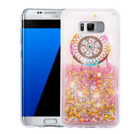 Quicksand Glitter Transparent Case for Samsung Galaxy S8 Plus - Dreamcatcher