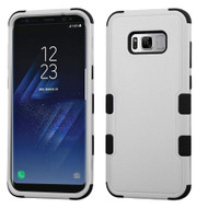 Military Grade Certified TUFF Hybrid Armor Case for Samsung Galaxy S8 - Grey