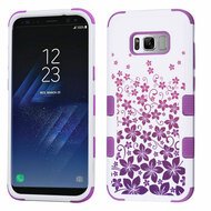 Military Grade Certified TUFF Image Hybrid Armor Case for Samsung Galaxy S8 Plus - Rising Hibiscus