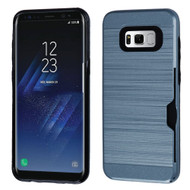 Card To Go Hybrid Case for Samsung Galaxy S8 Plus - Ink Blue