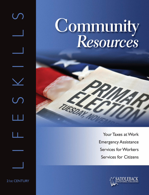 Community Resources Student Worktext