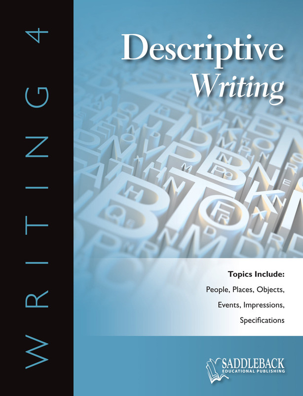 Descriptive Writing (Digital Download)