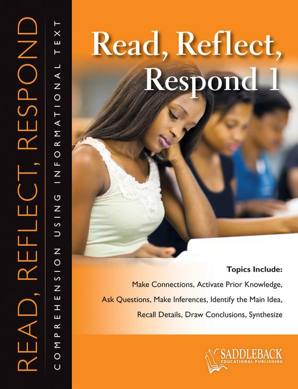 Read Reflect Respond 1 (Digital Download)