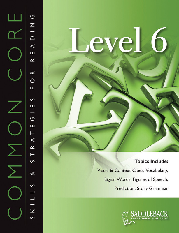 Common Core Skills & Strategies for Reading Level 6 (Digital Download)