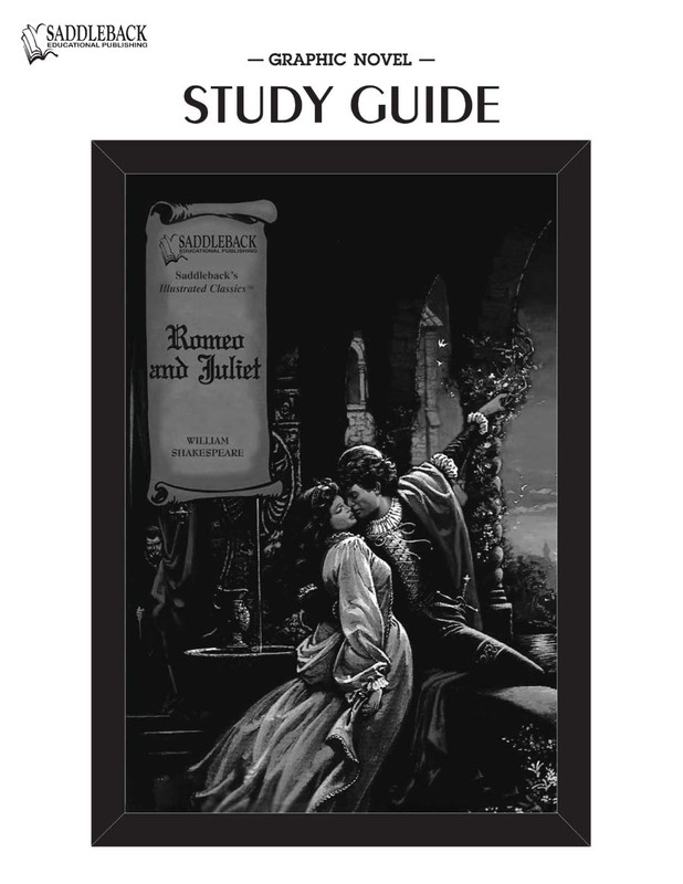 Romeo and Juliet Graphic Novel Study Guide (Digital Download)