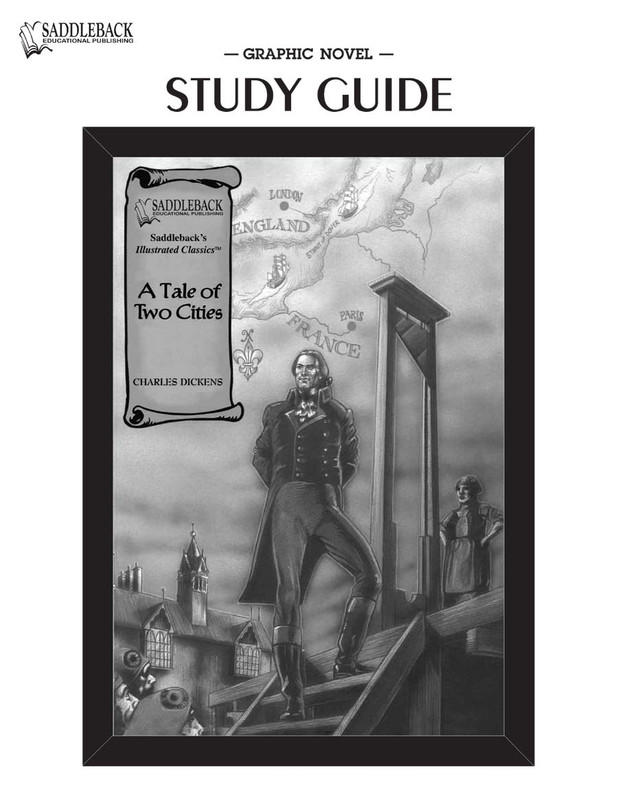 A Tale of Two Cities Graphic Novels Study Guide (Digital Download)
