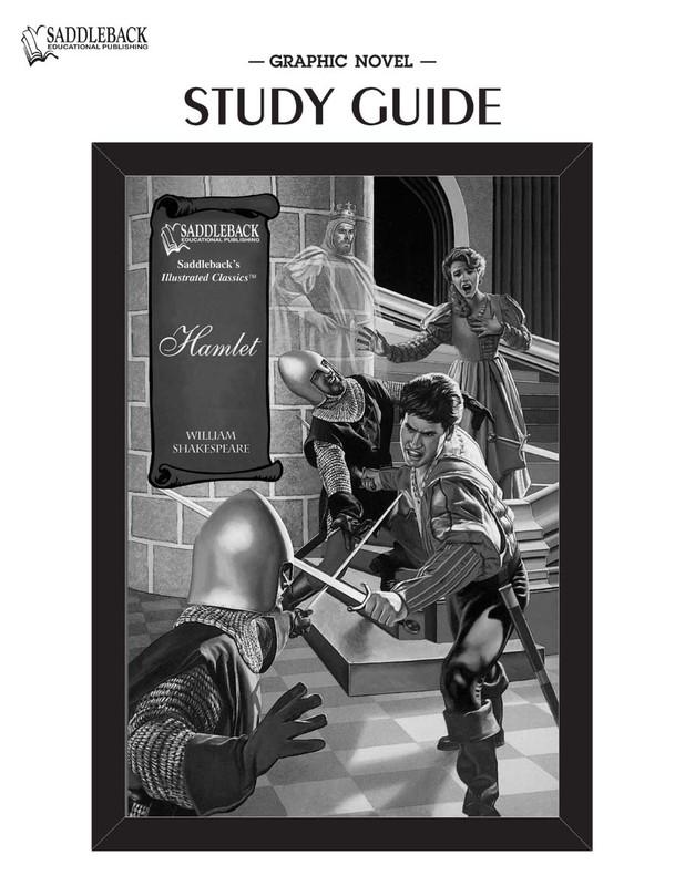 Hamlet Graphic Novel Study Guide (Digital Download)
