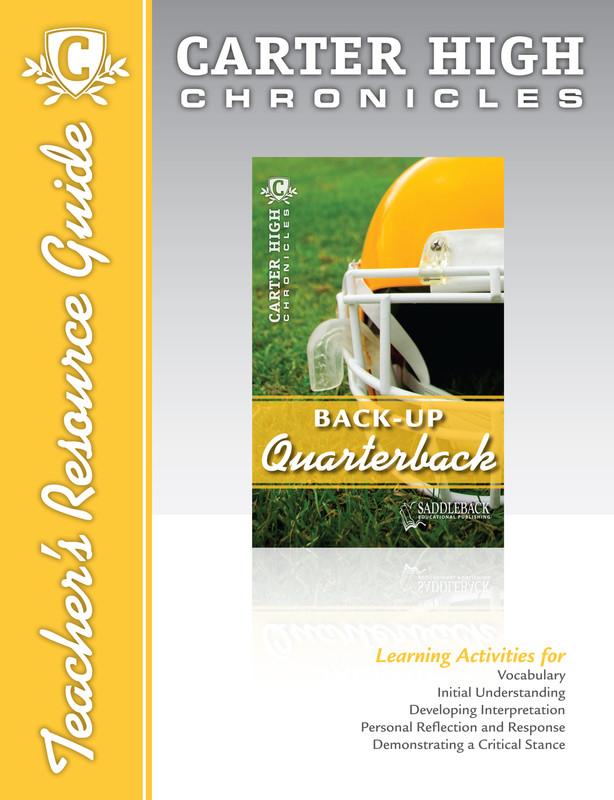 Back-Up Quarterback Teacher's Resource Guide (Digital Download)