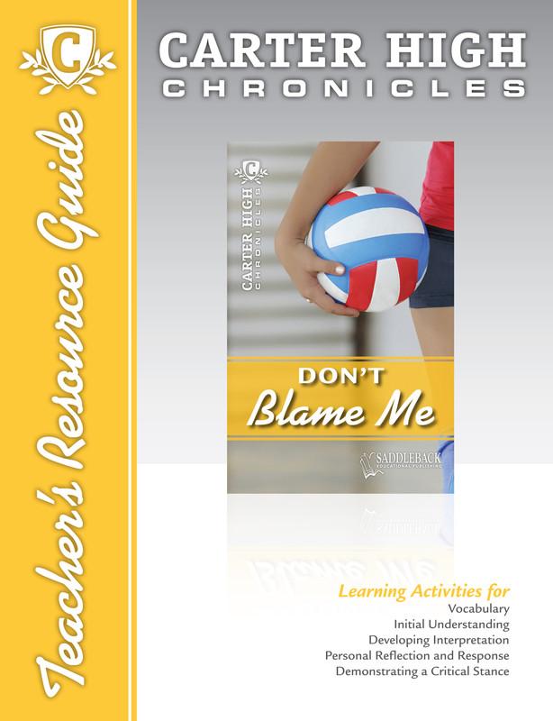 Don't Blame Me Teacher's Resource Guide (Digital Download)