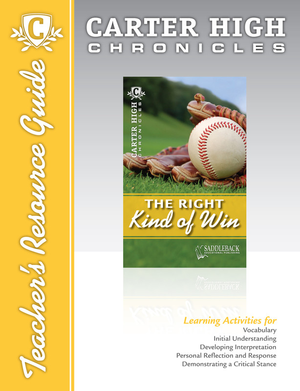 The Right Kind of Win Teacher's Resource Guide (Digital Download)