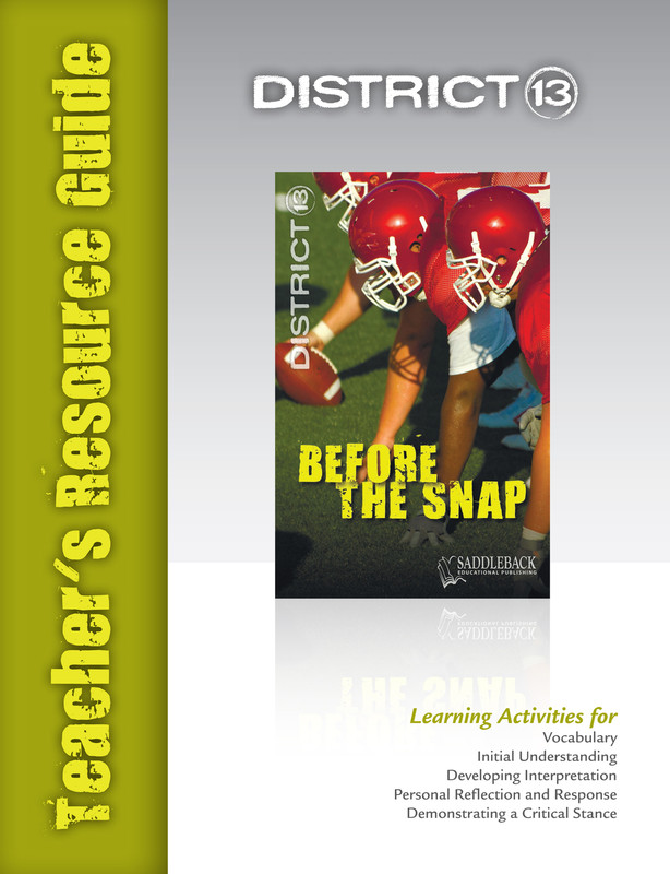 Before the Snap Teacher's Resource Guide(Digital Download)