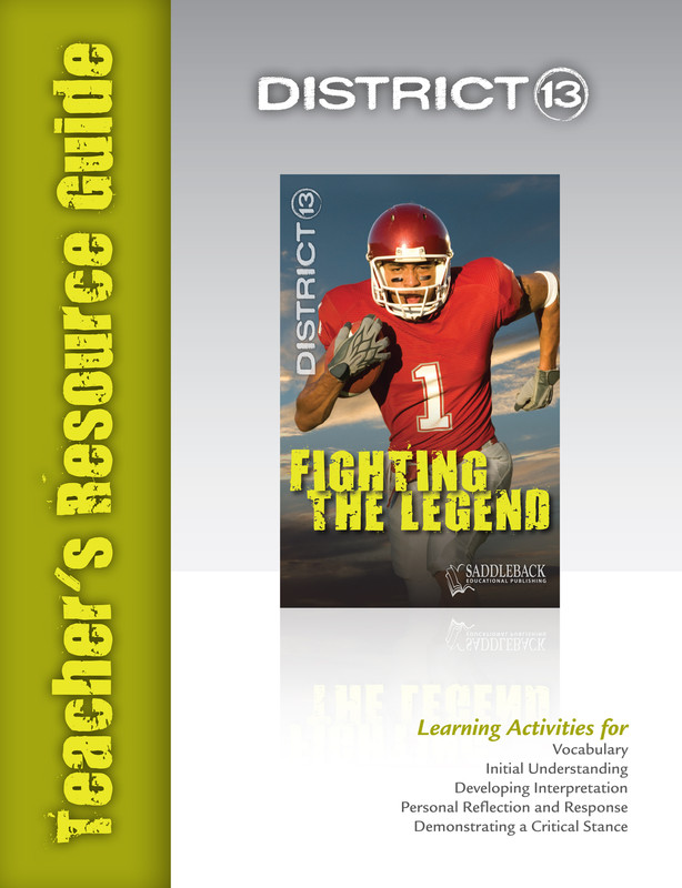Fighting the Legend Teacher's Resource Guide(Digital Download)