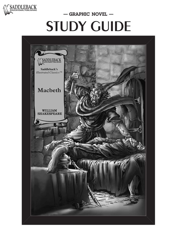 Macbeth Graphic Novel Study Guide (Digital Download)
