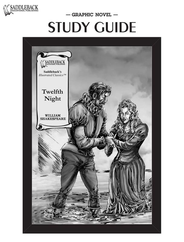 Twelfth Night Graphic Novel Study Guide (Digital Download)