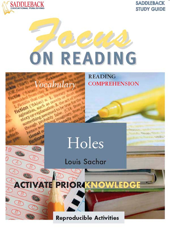 Holes: Focus on Reading Guide (Digital Download)