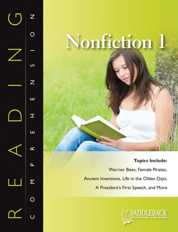 Reading Comprehension Nonfiction 1 (Digital Download)