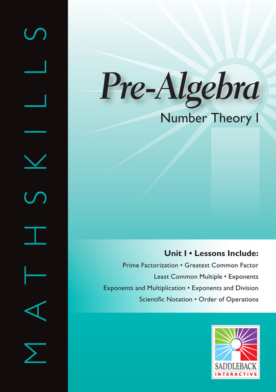 Number Theory I (Digital Download)