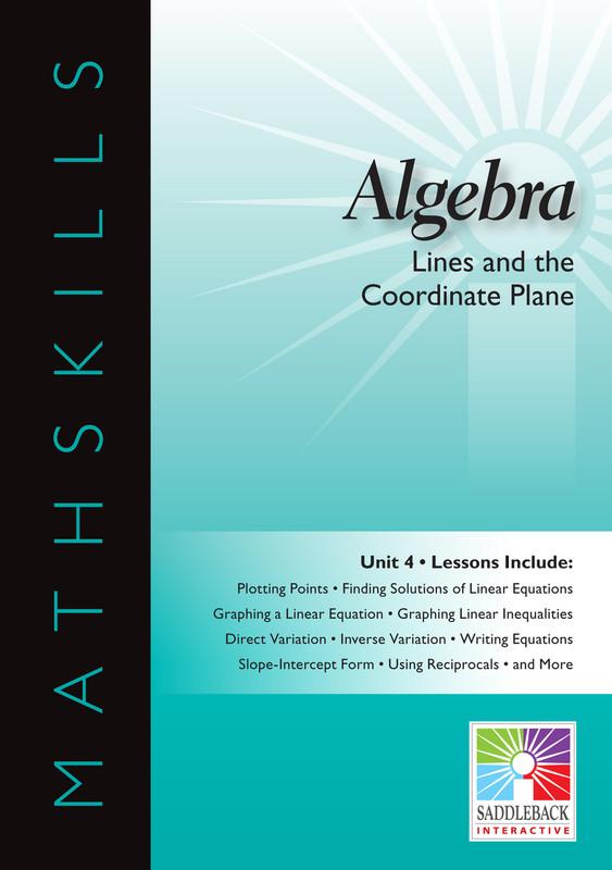 Lines & the Coordinate Plane(Digital Download)