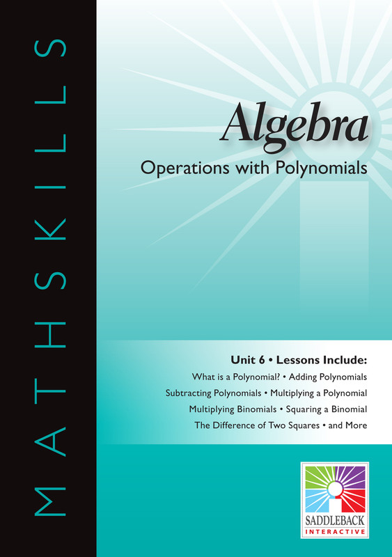 Operations with Polynomials(Digital Download)