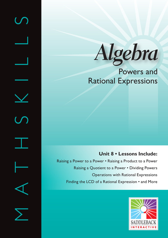 Powers & Rational Expressions(Digital Download)
