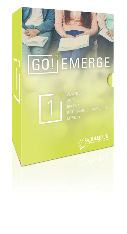 Tween Emergent Reader Libraries Additional Boxed Set - Go EMERGE (Set Contains 1 Each of 20 Titles--20 Books Total)
