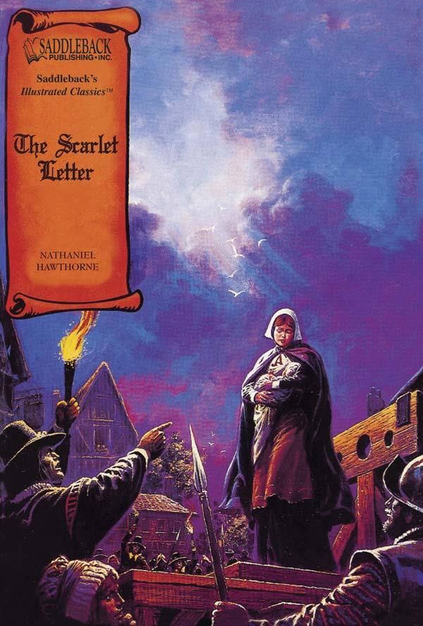 the scarlet letter graphic novel - hawthorne - 9781562549367