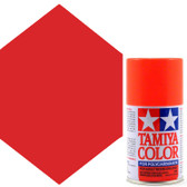 Tamiya Polycarbonate PS-20 Fluorescent Red Spray Paint 86020