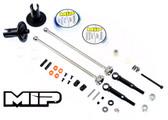 MIP 14170 Pucks Shiny Drive System Team-C / 2WD / TR2 SC / TC02T Stadium Truck