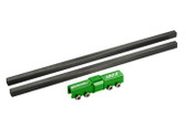 Microheli Aluminum 3rd Bearing Tail Drive Shaft Support GREEN Blade 130X