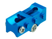 Microheli Aluminum 2mm Tail Boom Mount (BLUE) (for MH-NCPX005X series) Blade NCPX / Nano Cpx
