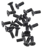 Thunder Tiger Flat Head Socket Screw 3x8mm (20) MT4 PD0677