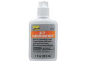 Pacer Zap Adhesives Z-7 De-Bonder 1 oz PT16