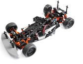 Yeah Racing SPT2-S04OR RWD Drift Conversion Kit for HPI Sprint 2 Orange