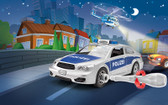 Revell 45-1002 Police Car Junior Assembly Kit Model Car
