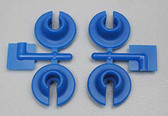 RPM 73155 Spring Cups (Blue) 4pcs for Losi Traxxas Associated HPI Shocks