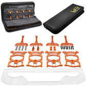 Yeah Racing YT-0140OR Universal Set Up System Ver.2 Orange For 1/10 On Road Car