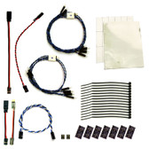 RC Lights RCL11120 Pre-Wired 12 LED Lights RPM Canister Brake Combo, 3mm, 6/18