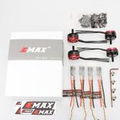 EMAX RS2205S 2600KV RaceSpec Brushless Motor w/ DShot Bullet ESC 30A Combo