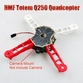 HMF Totem Q250 250mm 4-Axis Quadcopter Frame Kit FPV / CC3D Compatible